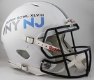 Super Bowl XLVIII (48) - Riddell Authentic Speed NFL Full Size Proline Football Helmet