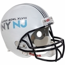 Super Bowl XLVIII (48) - Riddell NFL Full Size Deluxe Replica Football Helmet