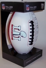 Super Bowl 51 LI Embossed Full Size Football