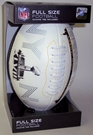 Super Bowl XLVIII Embossed Full Size Football