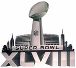 Super Bowl  XLVIII Footballs & Helmets