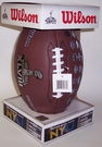 Super Bowl XLVIII Replica Game Full Size Football