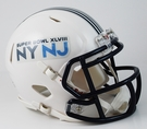 Super Bowl XLVIII (48) - Riddell Speed Mini Football Helmet