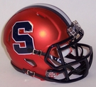 Syracuse Orangemen Speed Revolution Riddell Mini Football Helmet