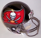 Tampa Bay Bucs Riddell Authentic NFL Full Size On Field Proline Football Helmet - 2014 Logo