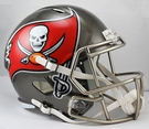 Tampa Bay Bucs Riddell NFL Full Size Deluxe Replica Speed Football Helmet