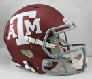 Texas A&M Aggies Riddell NCAA Full Size Deluxe Replica Speed Football Helmet