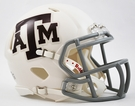 Texas A&M Speed Revolution Riddell Mini Football Helmet