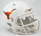 Texas Longhorns Chrome Speed Revolution Riddell Mini Football Helmet
