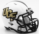 UCF Central Florida White Matte Speed Riddell Mini Football Helmet