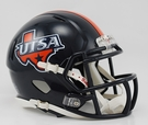 UTSA Texas San Antonio Speed Revolution Riddell Mini Football Helmet