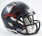 Virginia Cavaliers Speed Revolution Riddell Mini Football Helmet