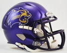 Western Carolina Catamounts Speed Revolution Riddell Mini Football Helmet