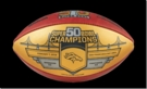 Wilson Exclusive Official Super Bowl 50 Gold Champion Full Size Game Football - Denver Broncos - Limited Editon of 5000