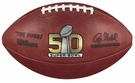 Wilson Official Leather NFL� SUPER BOWL 50 Full Size Game Football