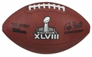 Wilson Official Leather NFL� SUPER BOWL XLVIII Full Size Game Football