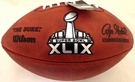 Wilson Official Leather NFL� SUPER BOWL XLIX Full Size Game Football