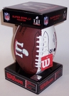 Wilson SUPER BOWL 51 LI Mini Signature Series Football