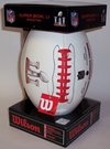 Wilson SUPER BOWL 51 LI Full Size Signature Series Football