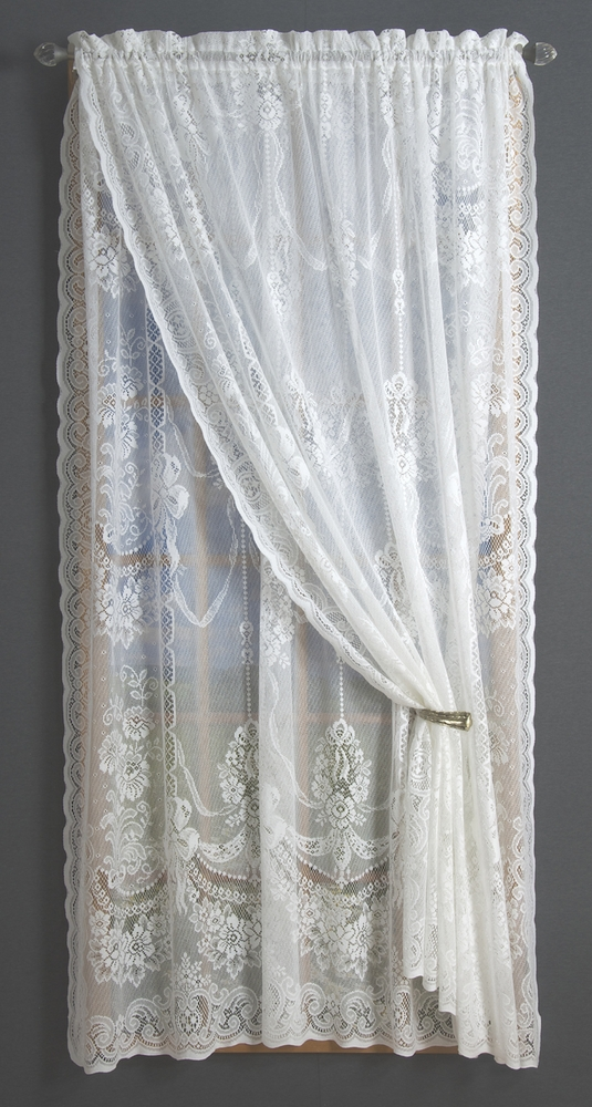 American Balmore Lace Tailored Window Panels