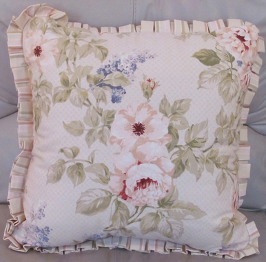 Annette Square Pillow - Croscill CLEARANCE