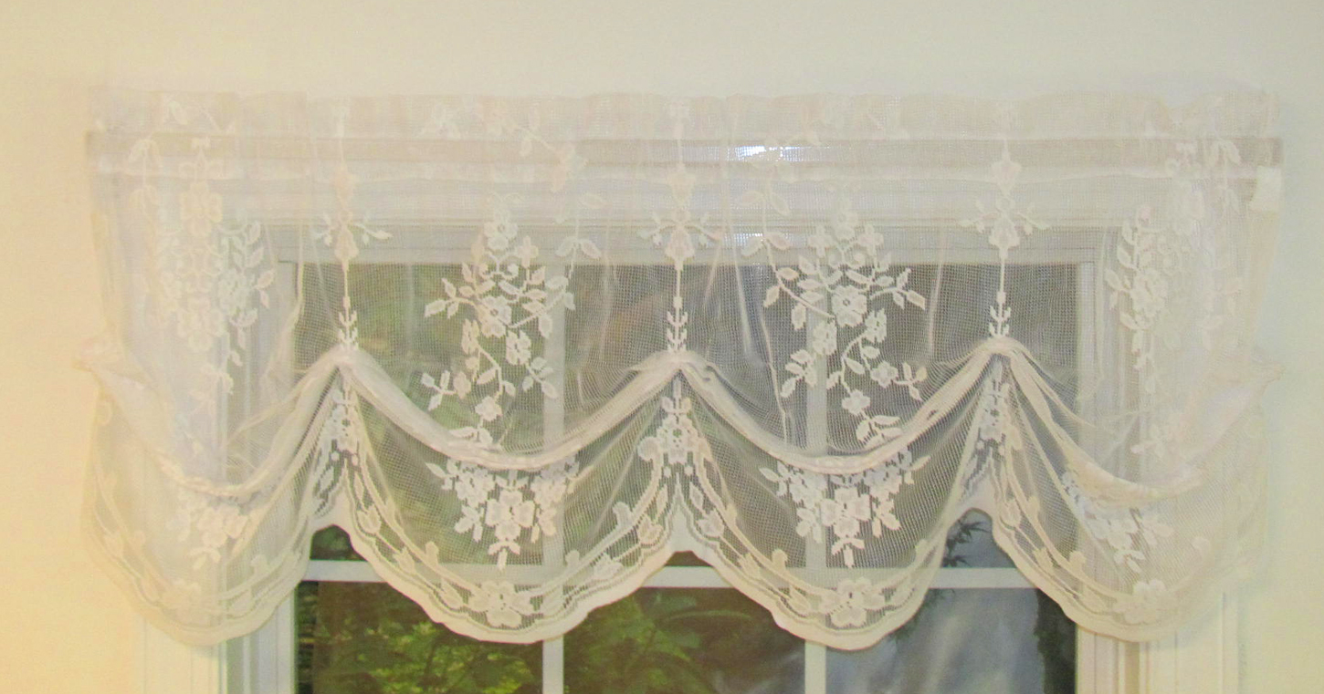 Fiona Lace Balloon Valance Thecurtainshop Com