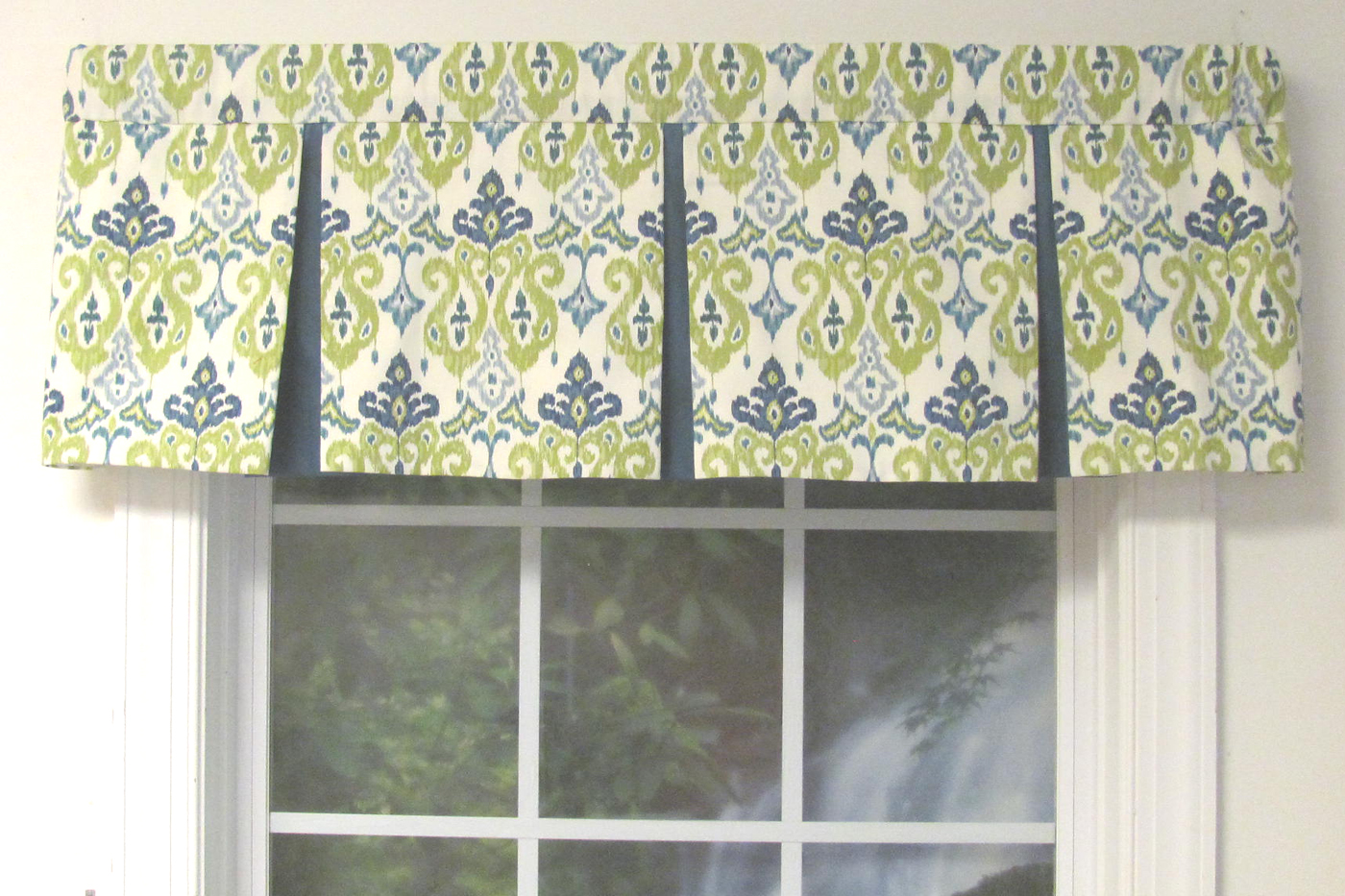 Box Pleat Valance Custom Select