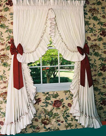 Country Curtains, Ruffled Curtains at TheCurtainShop.com