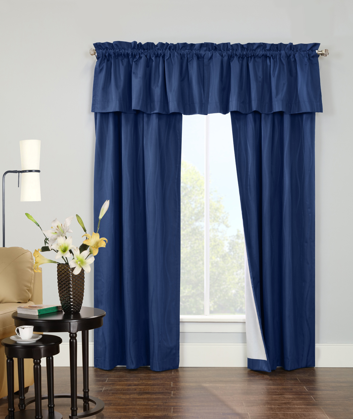 contrail insulated room darkening rod pocket curtain pair sold out