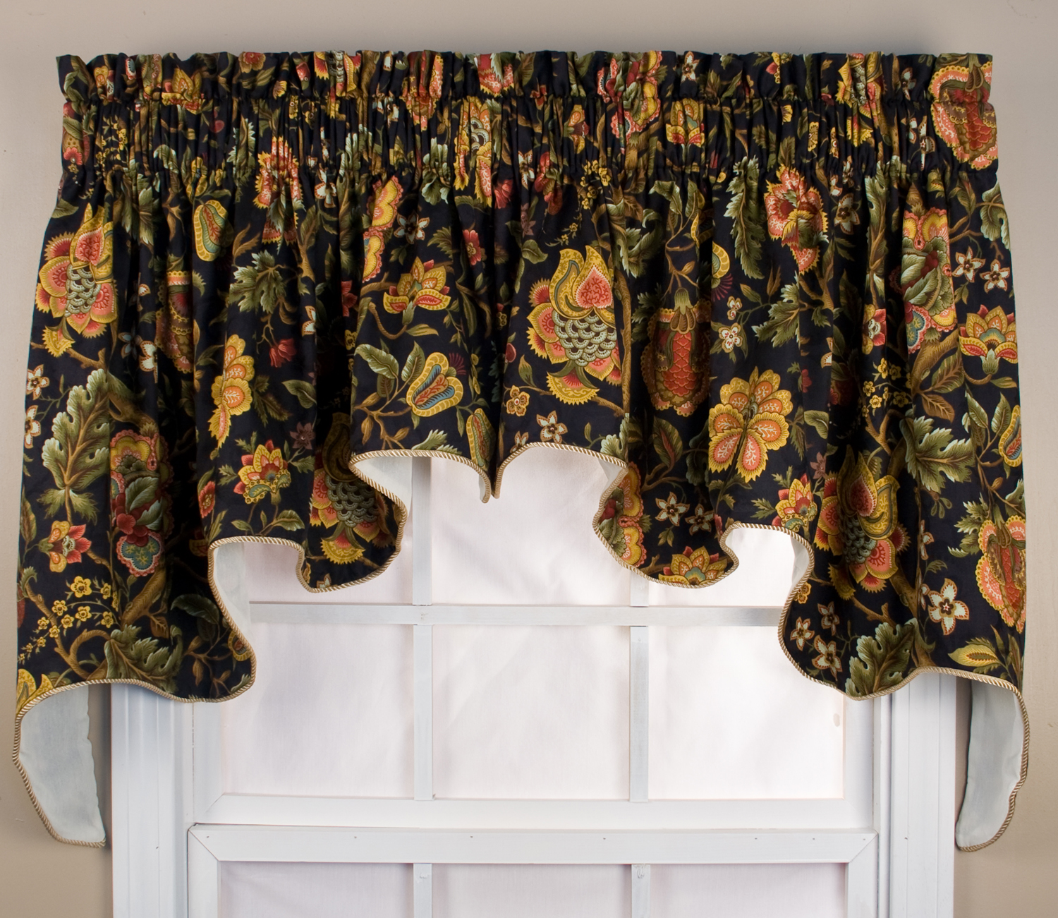 Swag Curtains Solids Patterns Thecurtainshop Com