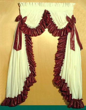 Country Ruffled Curtain Sets - TheCurtainShop.com