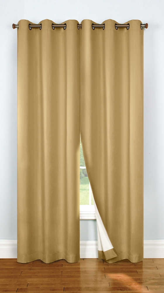 Four Seasons Black Out Grommet Curtain Panels Thermalock