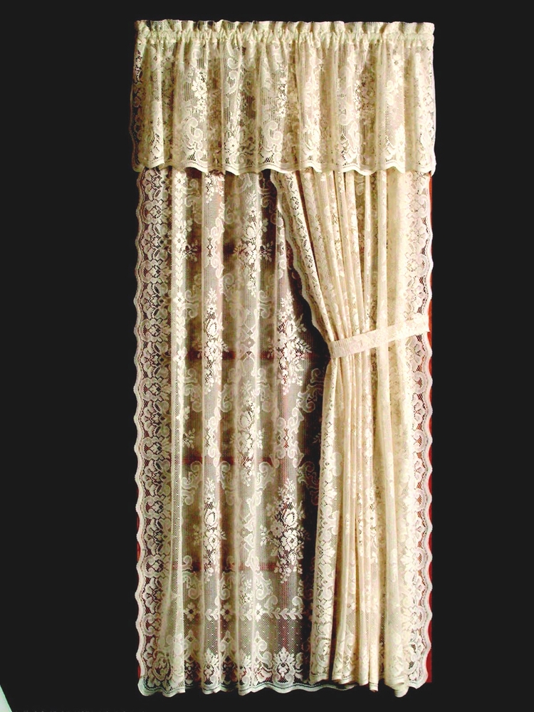 Highland Lace Curtain Panel
