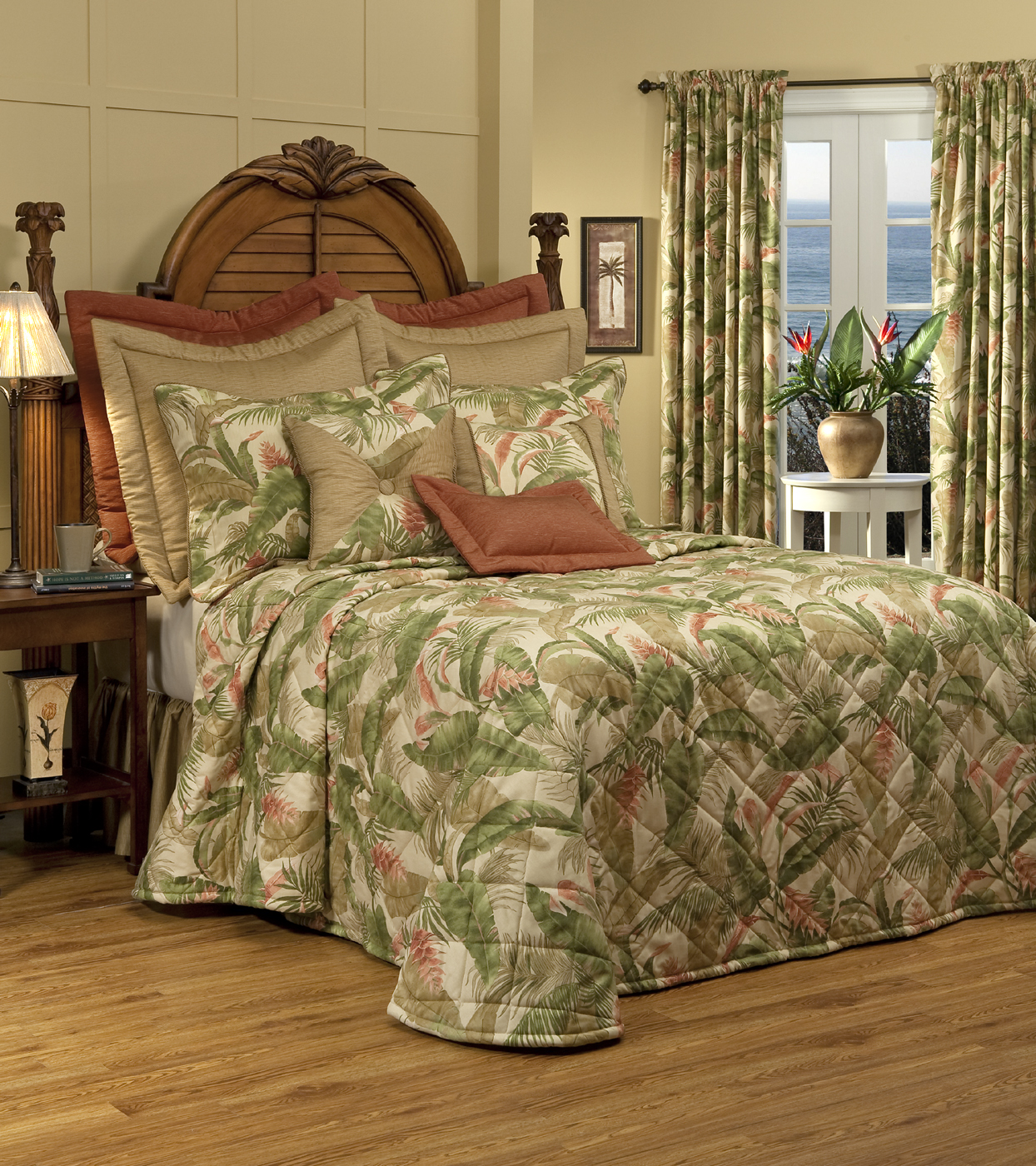 Quilted Bedspread La Selva Natural By Thomasville