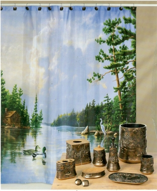 Lakeside Shower Curtain - SOLD OUT
