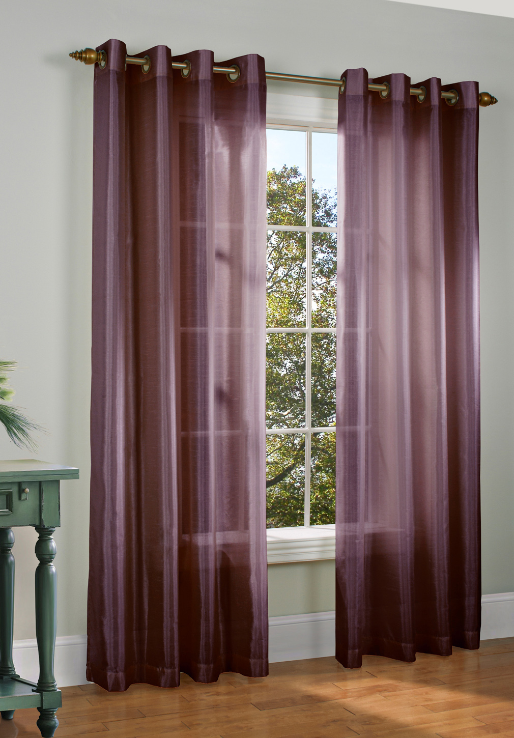 Grommet Curtains Tab Top Curtains