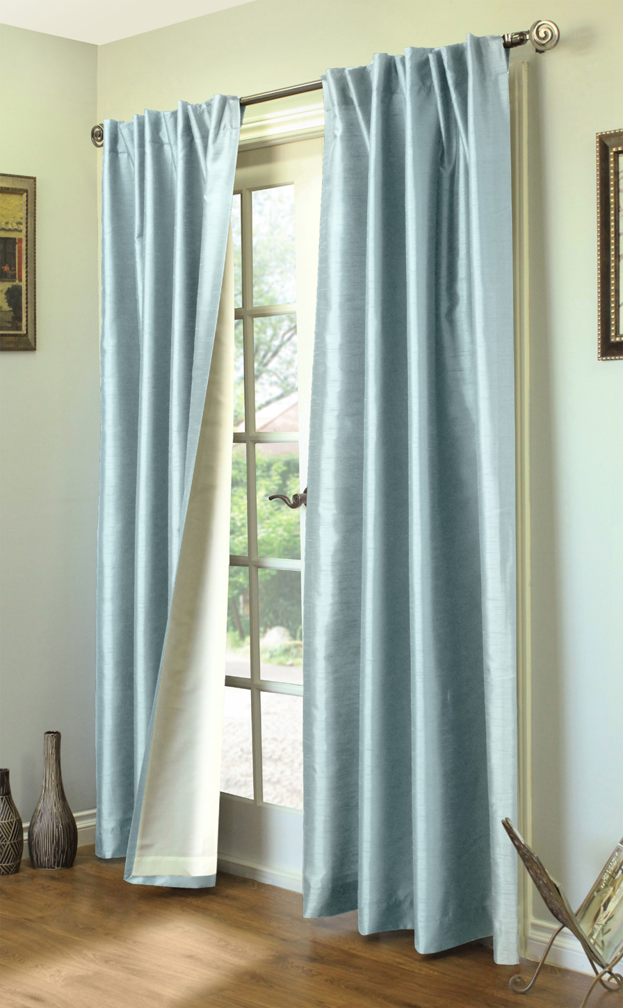 panels cur curtains organza sheer pack pocket window curtain of products rod x navy blue with treatment
