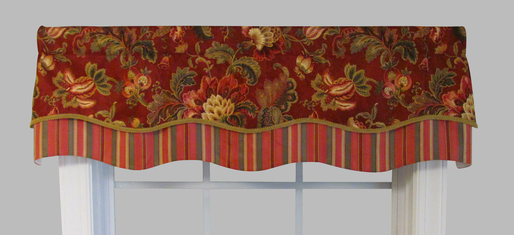 Valances Swags And Window Toppers