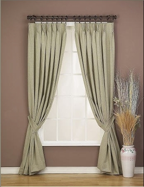 the stylish and decorative traverse rods drapery room ideas