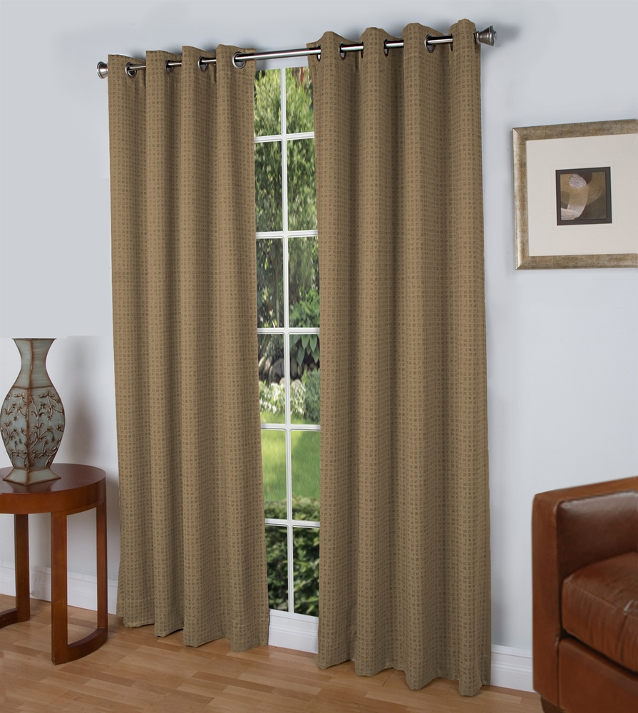 Spanish Steps Insulated Grommet Top Curtain Panel