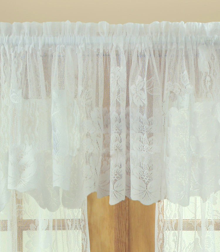 Leeanne Lace Tailored Valance