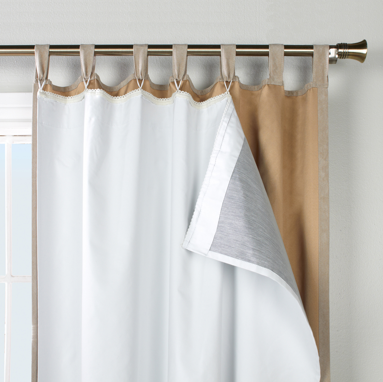 How To Hang Curtains With Drapery Hooks Thermal Jacket Liners