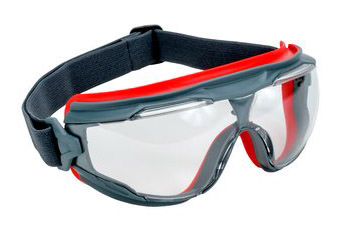 3M 500 Series Anti-Fog Clear Splash Goggles GG501SGAF
