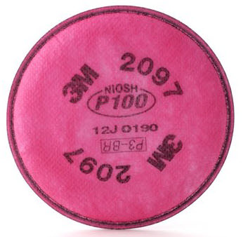 3M Particulate P100 Replacement Filter 2097
