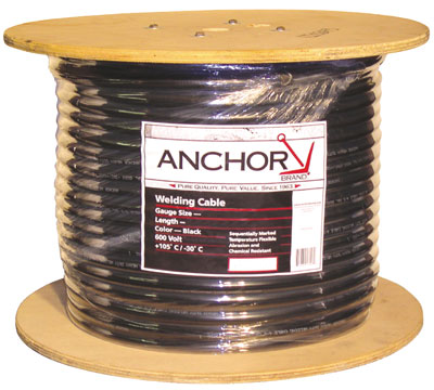 Anchor 1/0 Welding Cable - 250 ft. Reel