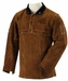 Black Stallion Leather Cape Sleeve & Bib - Split Cowhide 220CS