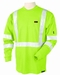 Black Stallion Flame Resistant Hi-Vis Cotton T-Shirt - TF1211-LM