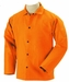 Black Stallion Welding Jacket - FR Orange Cotton FO9-30C