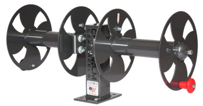 Chisholm Welding Lead Reel - Fixed Base Side By Side FBSS
