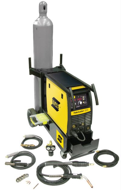 ESAB Fabricator 252i Package with Single Cylinder Cart W1004402